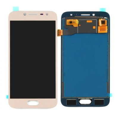 LCD with Touch Screen for Samsung Galaxy J2 Pro - Gold (display glass combo folder)