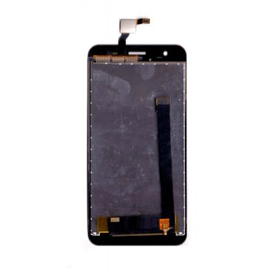 LCD with Touch Screen for Lyf Water 11 - Black (display glass combo folder)