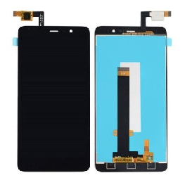 LCD with Touch Screen for Xiaomi Redmi Note 3 - Black (display glass combo folder)