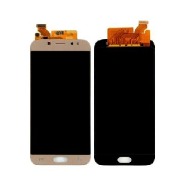 LCD with Touch Screen for Samsung Galaxy J7 Pro - Gold (display glass combo folder)