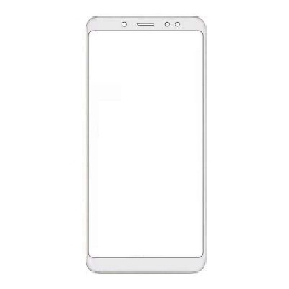 Front Glass for Xiaomi Redmi Note 5 Pro - White