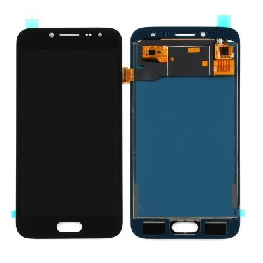 LCD with Touch Screen for Samsung Galaxy J2 Pro - Black (display glass combo folder)