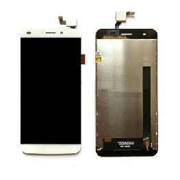 LCD with Touch Screen for Lyf Water 11 - Gold (display glass combo folder)