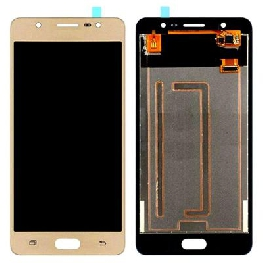 LCD with Touch Screen for Samsung Galaxy J7 Max - Gold (display glass combo folder)