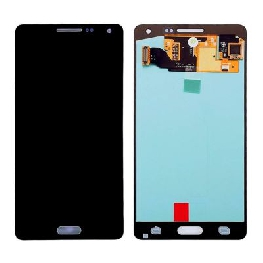 LCD with Touch Screen for Samsung Galaxy A5 SM-A500G - Black (display glass combo folder)