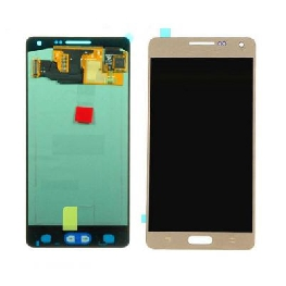 LCD with Touch Screen for Samsung Galaxy A5 SM-A500G - Gold (display glass combo folder)