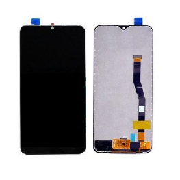 LCD with Touch Screen for Samsung Galaxy M20 - Black (display glass combo folder)