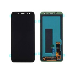 LCD with Touch Screen for Samsung Galaxy J6 - Blue (display glass combo folder)