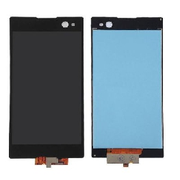 LCD with Touch Screen for Sony Xperia C3 Dual D2502 - Black (display glass combo folder)