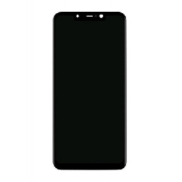 LCD with Touch Screen for Xiaomi Pocophone F1 - Black (display glass combo folder)